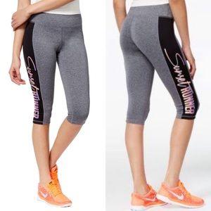 Material Girl Graphic Cropped Leggings / Pants